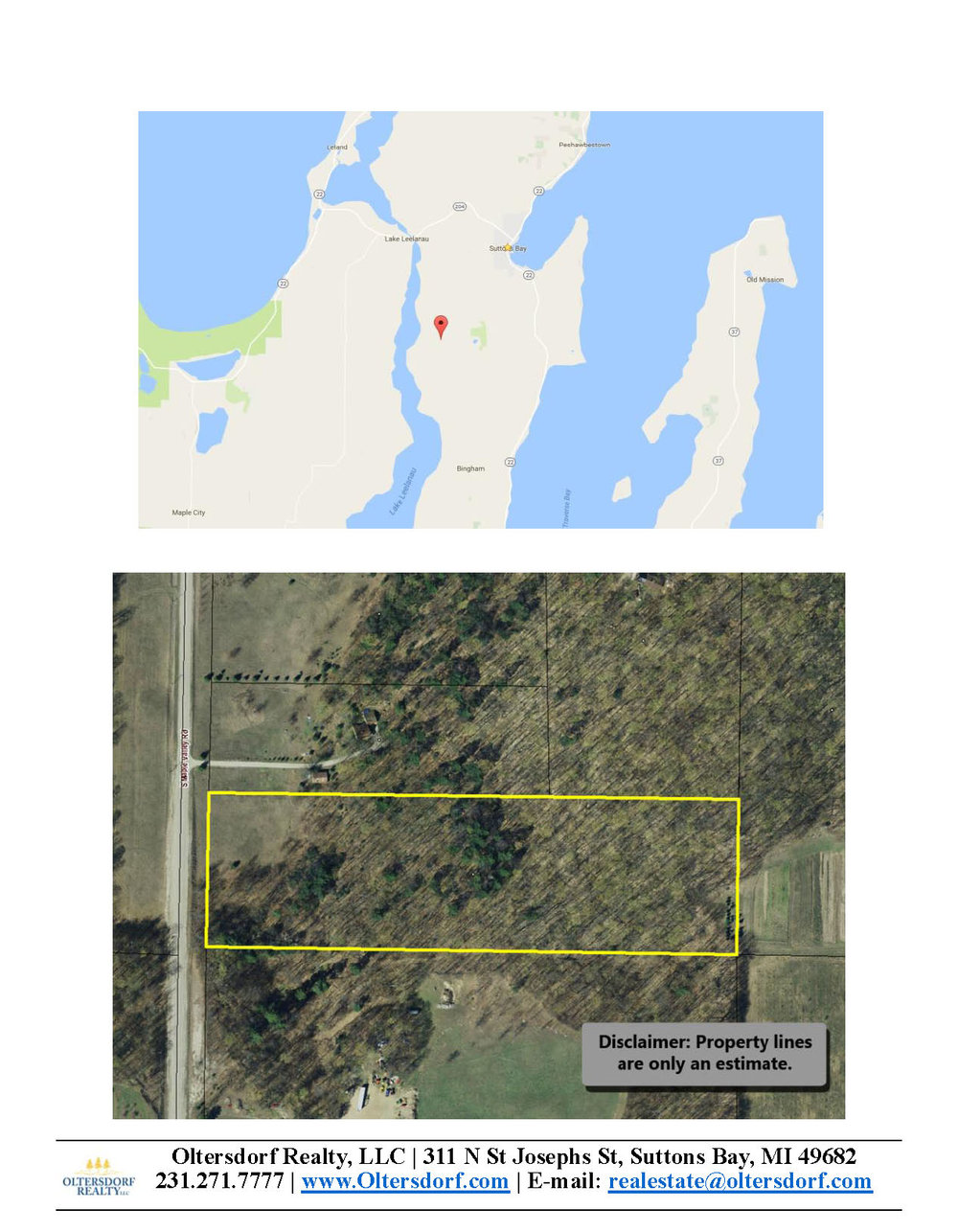S Maple Valley Road, Suttons Bay, MI – 10.00 Acre Vacant Parcel  for sale by Oltersdorf Realty LLC (7).jpg