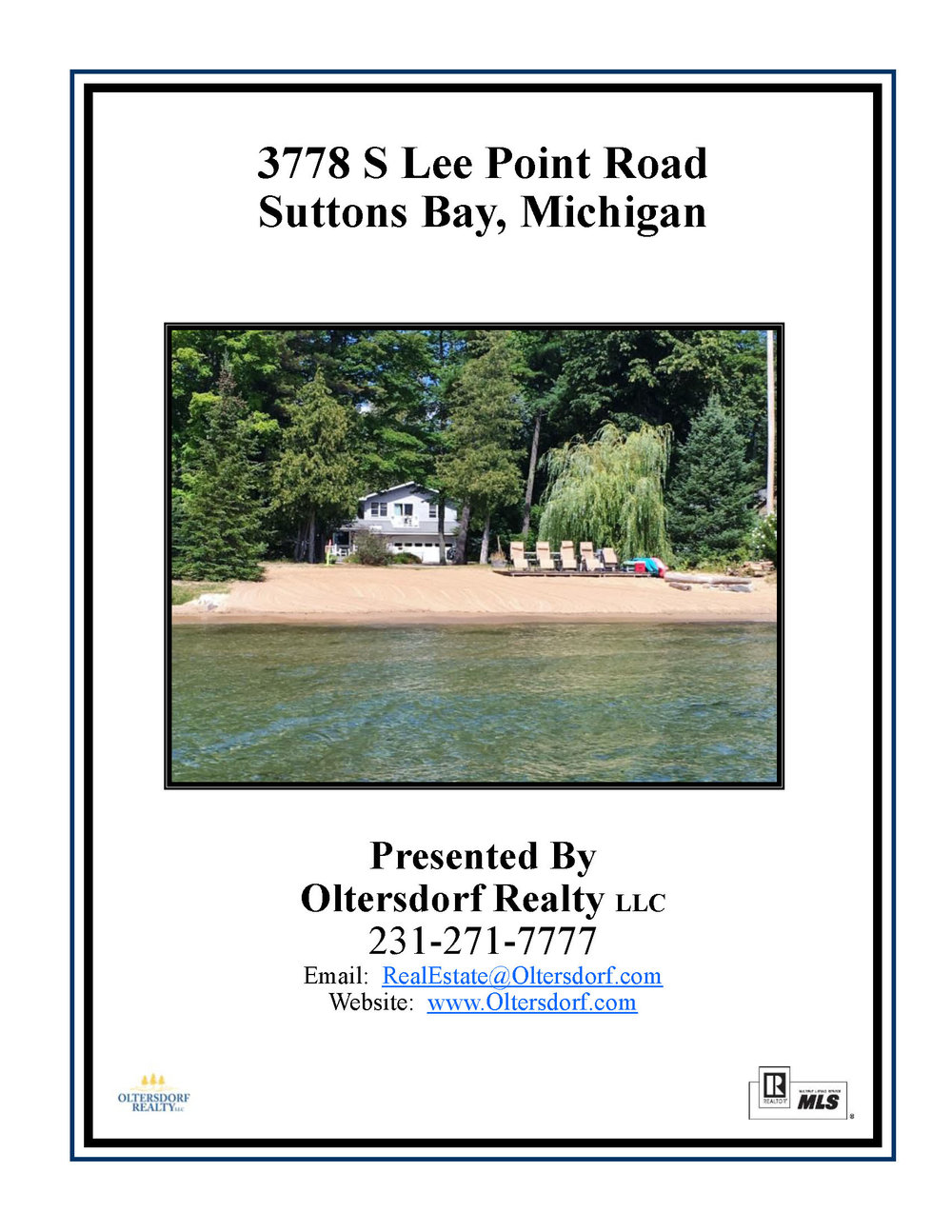 3778 S Lee Point Road, Suttons Bay waterfront home for sale by Oltersdorf Realty LLC Suttons Bay & Leelanau County Realtors - Photo Gallery (1).jpg