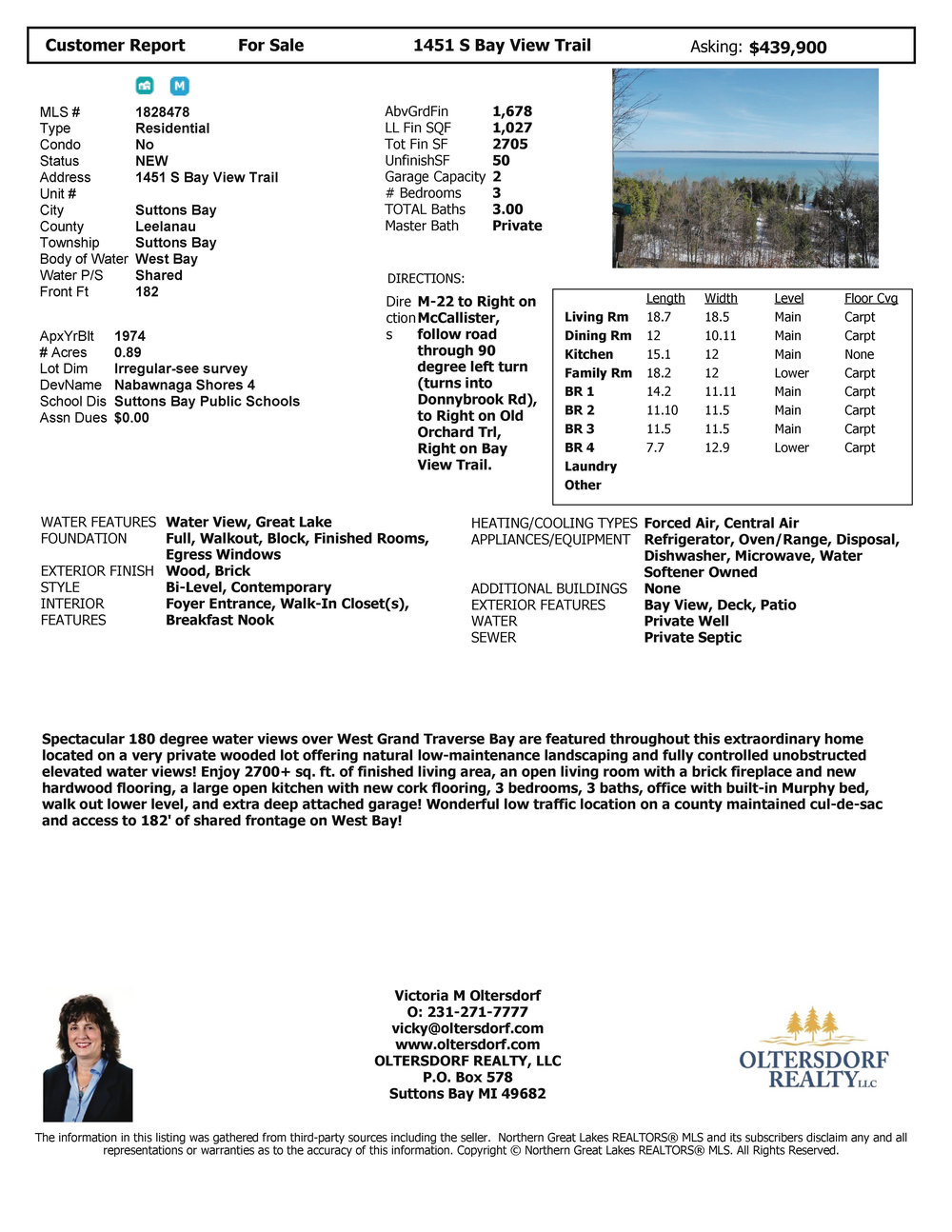 1451 S Bay View Trail, Suttons Bay, MI – Spectacular Panoramic West Bay Views, real estate for sale by Oltersdorf Realty LLC (12).jpg