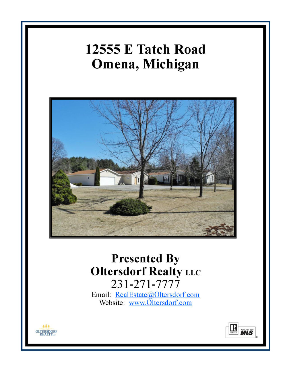 12555 E Tatch Road, Omena, MI – 4 Bedroom Home + Large Garage & Workshop For Sale by Oltersdorf Realty LLC (4).jpg