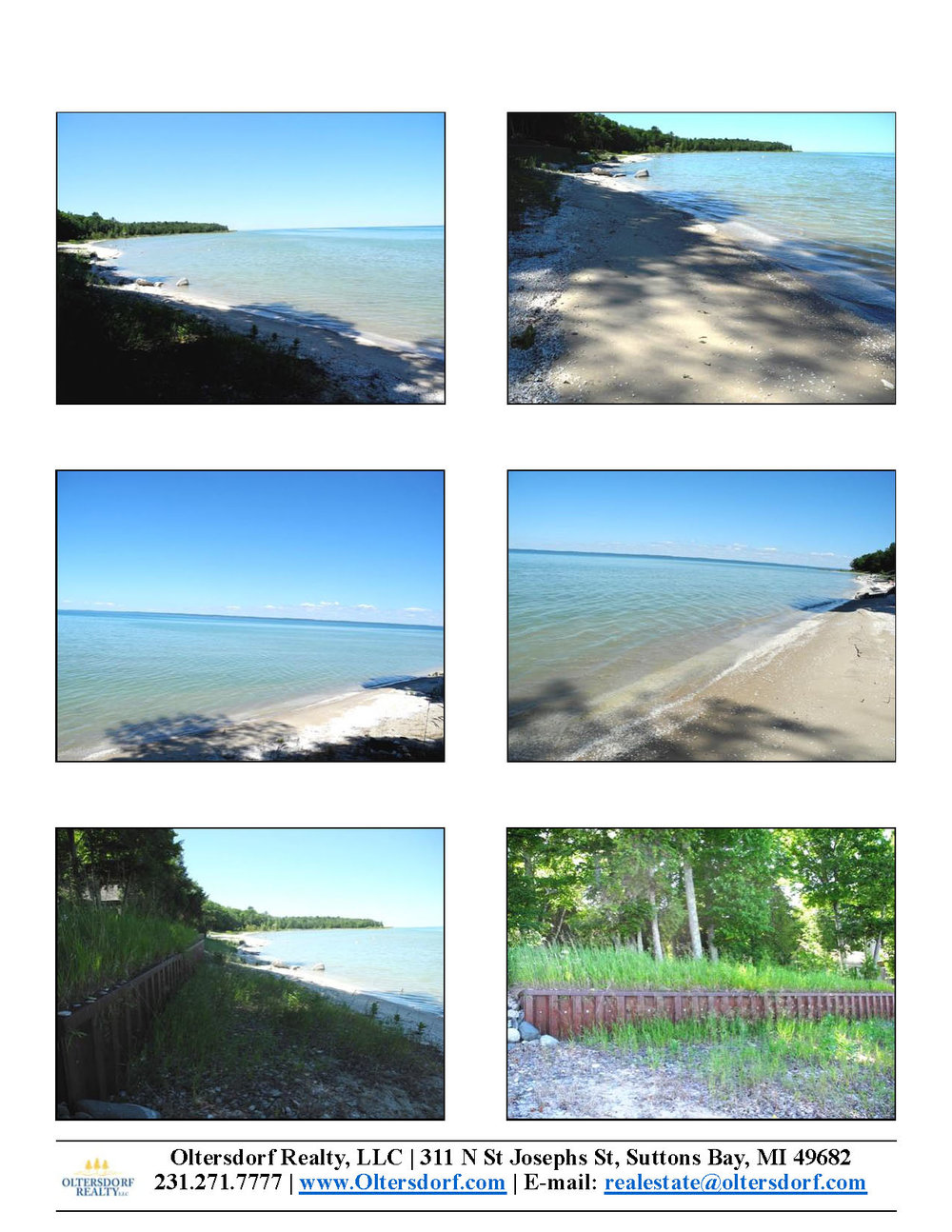 Lot 241 Forest Beach Shores, Northport waterfront lot in Leelanau County for sale by Oltersdorf Realty LLC Leelanau County Realtors (2).jpg
