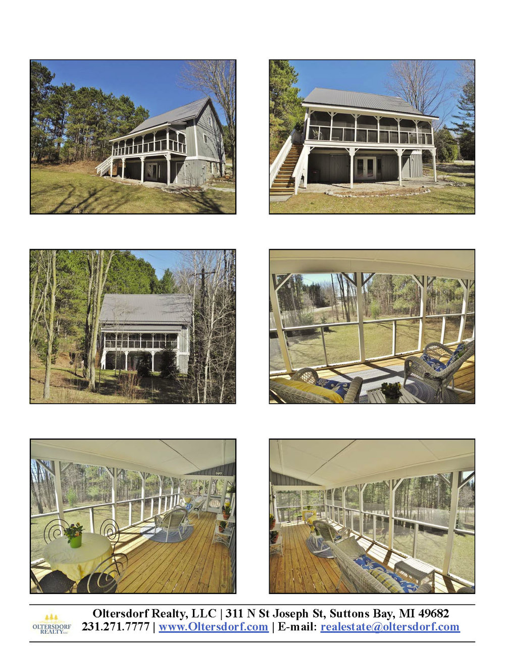 881 N Eagle Highway, Lake Leelanau, MI – Unique Post & Beam Home For Sale By Oltersdorf Realty LLC - Marketing Packet (2).jpg