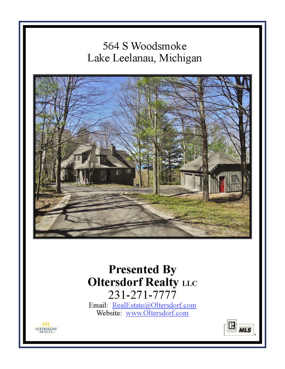 564 S Woodsmoke Drive, Lake Leelanau, MI – Sunset Lake Michigan Water Views - For Sale by Oltersdorf Realty - Marketing Packet (1).jpg