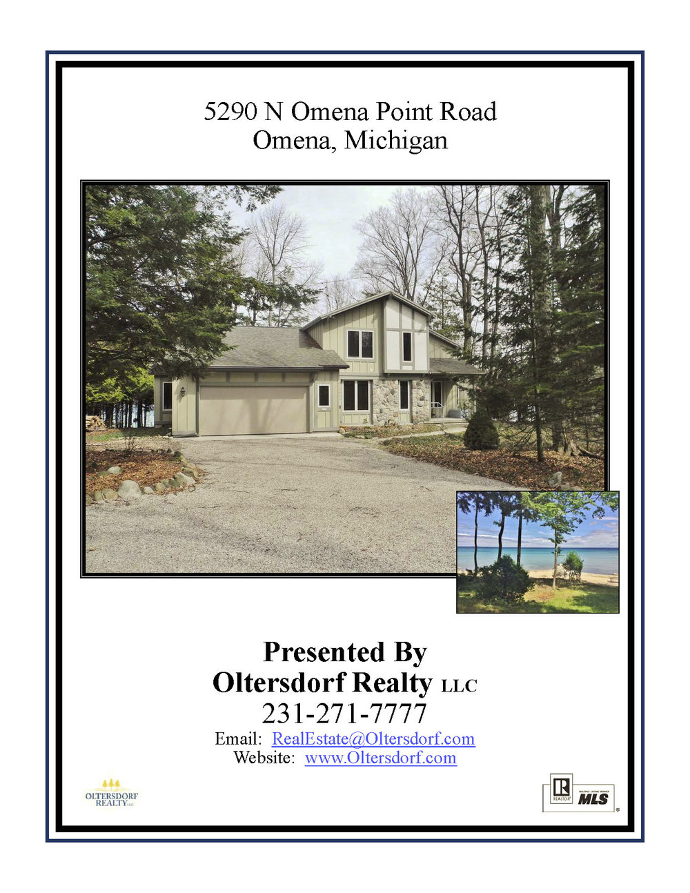 5290 N Omena Point Road, Omena, MI – 100' of Private Frontage on Grand Traverse Bay for sale by Oltersdorf Realty LLC (1) - Marketing Packet.jpg