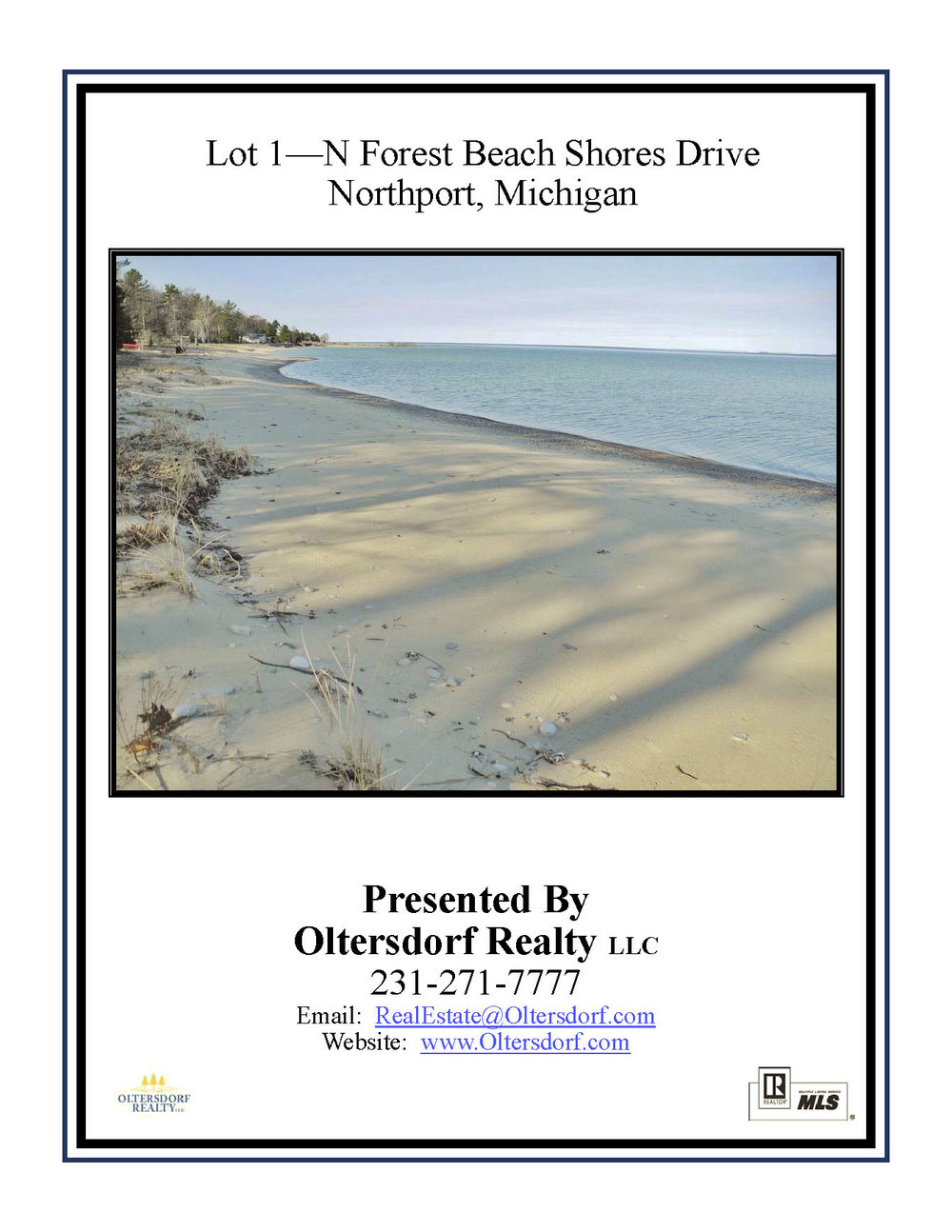 Lot 1 - N Forest Beach Shores, Northport – FOR SALE by Oltersdorf Realty LLC - Marketing Packet (1).jpg