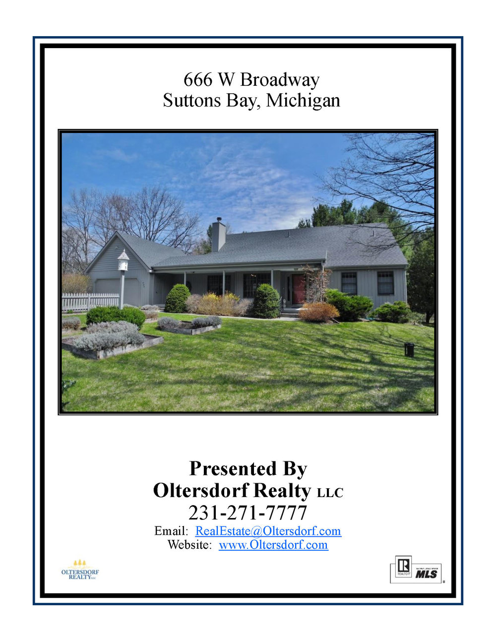 666 W Broadway, Suttons Bay – FOR SALE by Oltersdorf Realty, Leelanau County Real Estate - Marketing Packet (1).jpg