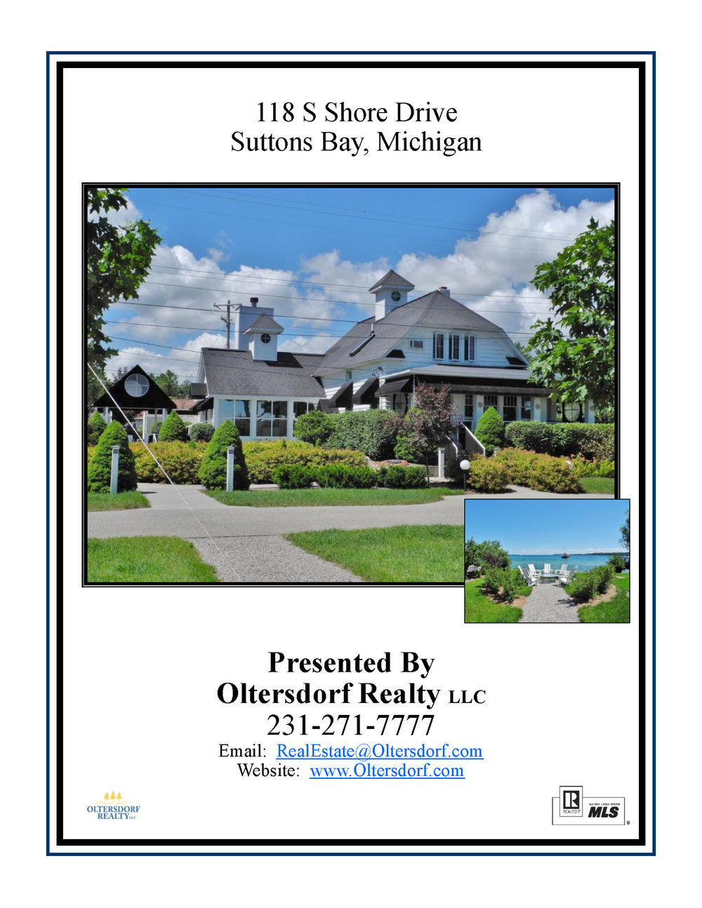118 S Shore Drive, Suttons Bay, For Sale By Oltersdorf Realty - Marketing Packet (1).jpg