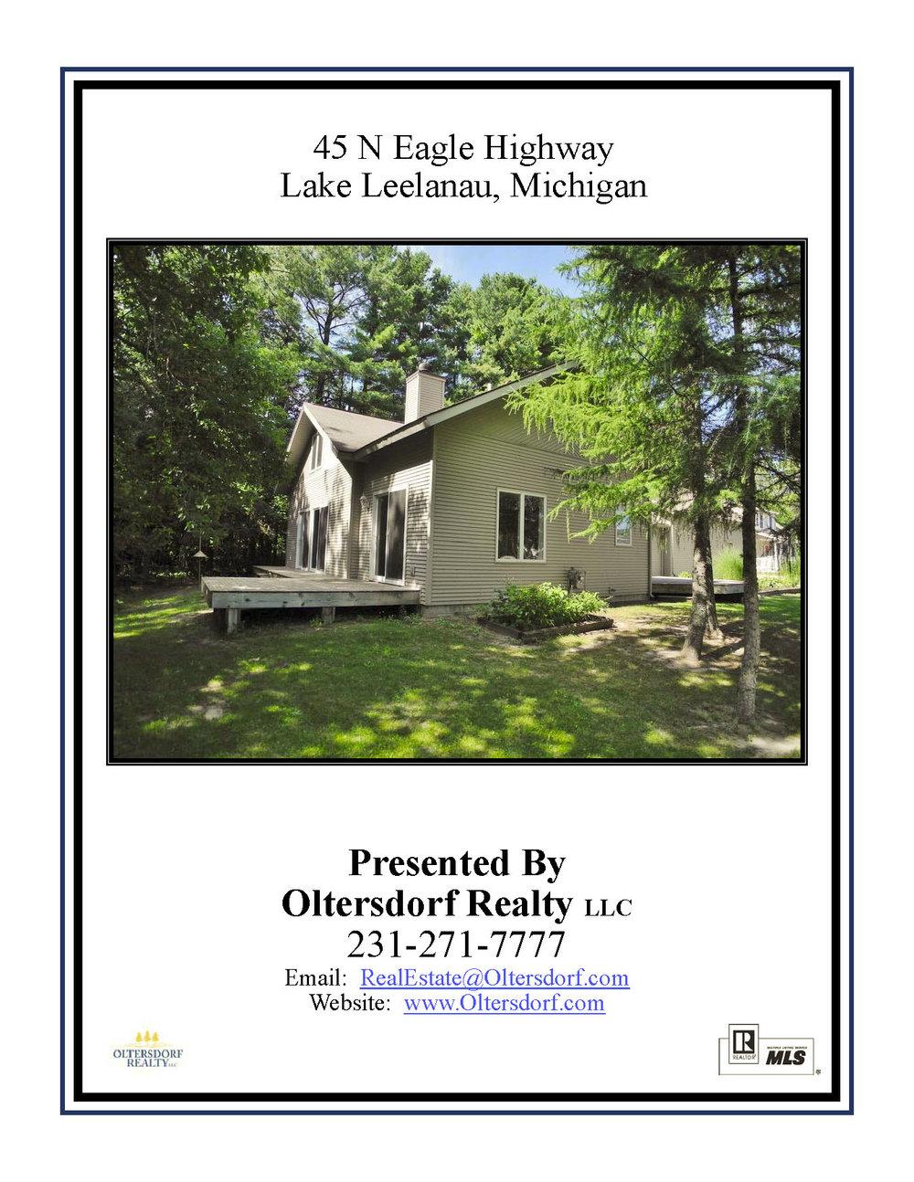 45 N Eagle Highway, Lake Leelanau, Real Estate For Sale by Oltersdorf Realty - Marketing Packet (1).jpg