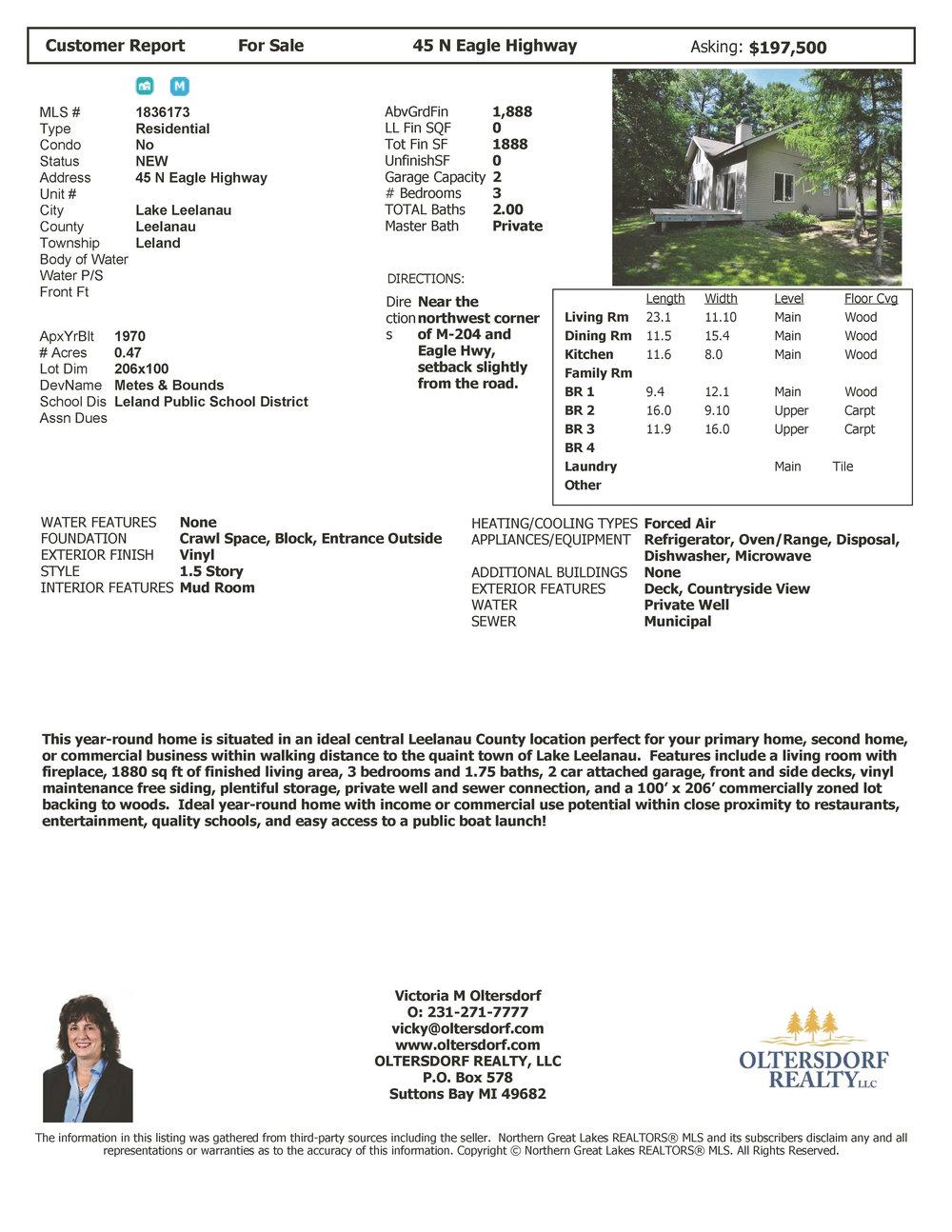 45 N Eagle Highway, Lake Leelanau, Real Estate For Sale by Oltersdorf Realty - Marketing Packet (6).jpg