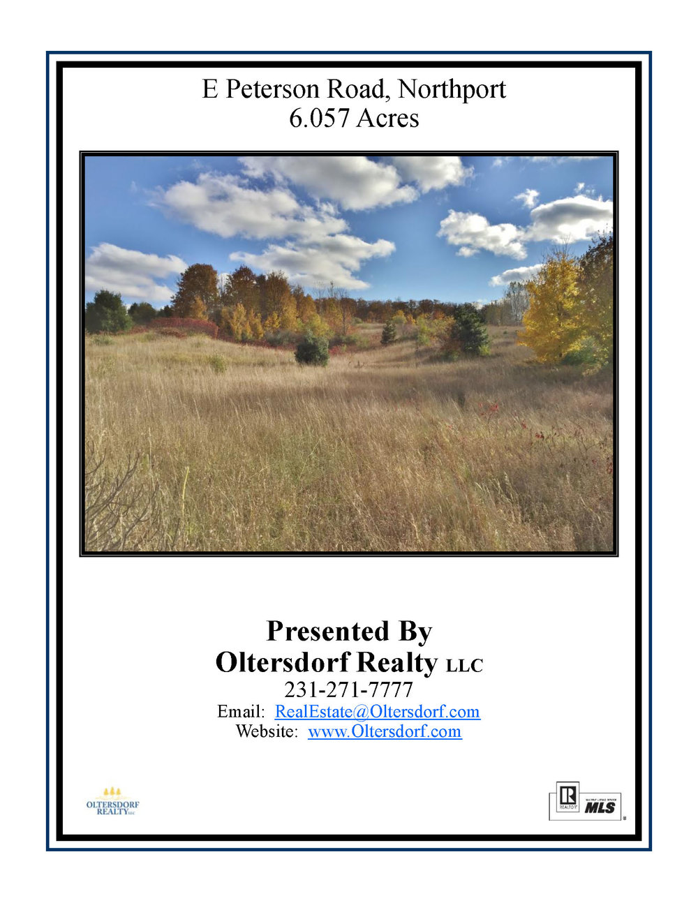 Parcel E – E Peterson Road, Northport, MI – 6.05 Acres & Distant Lake Michigan Views - For Sale by Oltersdorf Realty LLC (1).jpg