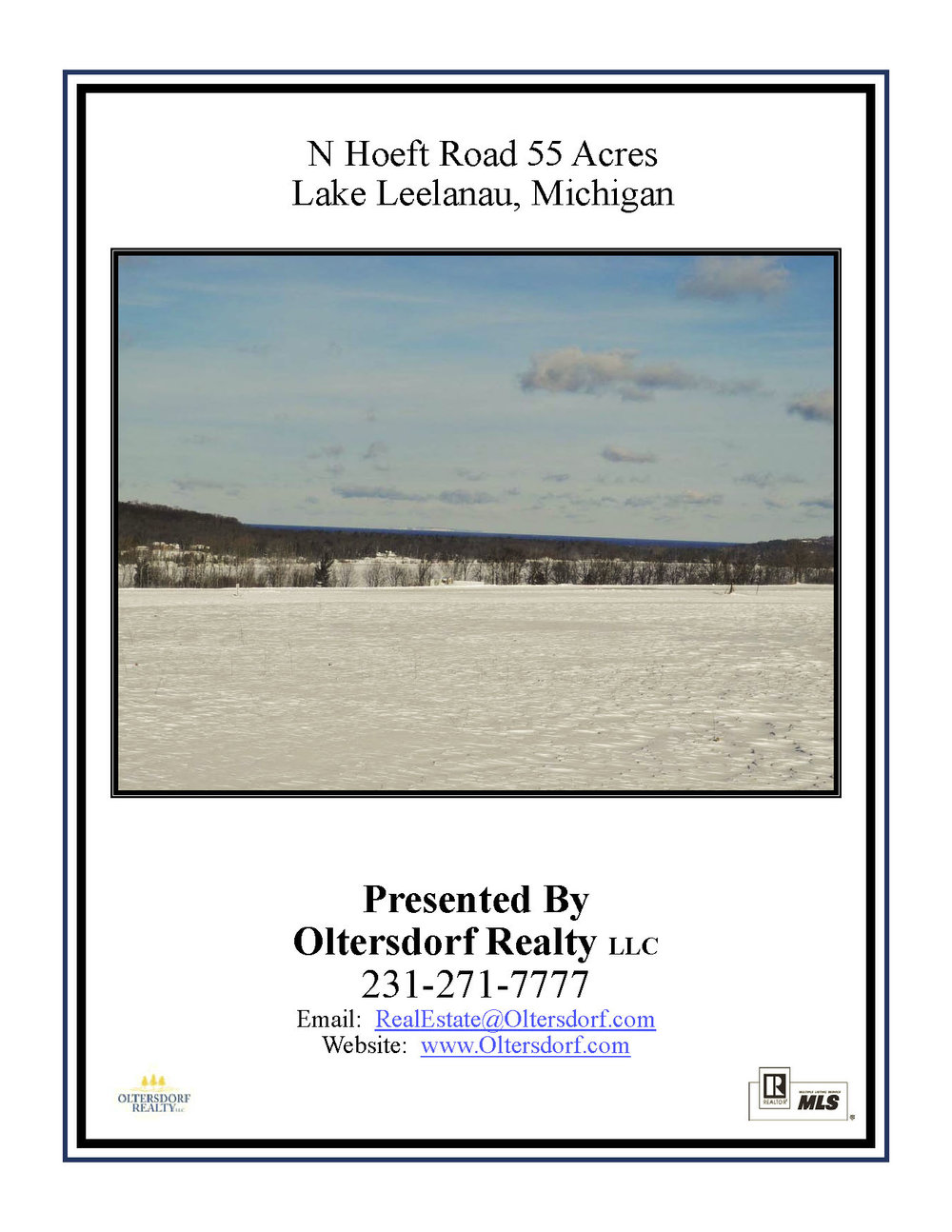N Hoeft Road, Lake Leelanau - Marketing Packet_Page_01.jpg