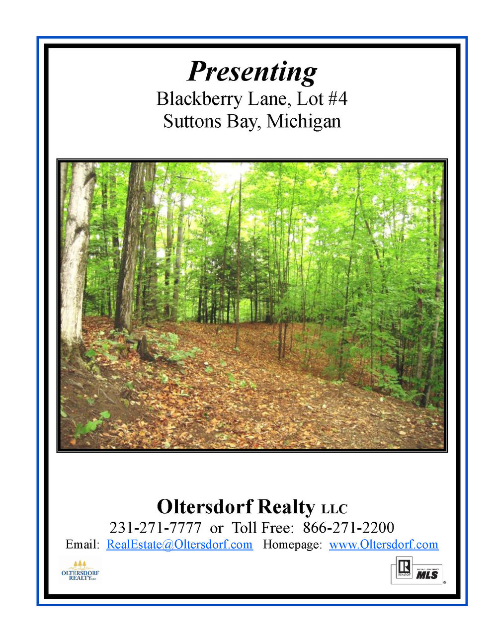 Lot 4 W Blackberry Ln, Suttons Bay - Information Packet_Page_01.jpg