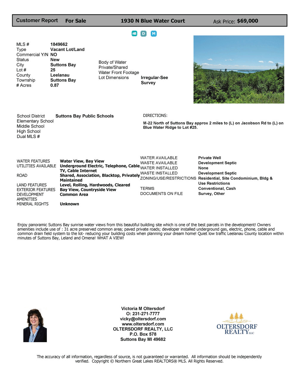 1930 N Blue Water Court, Suttons Bay 69k price reductiont.jpg