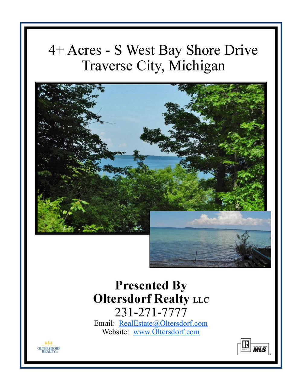 4+ Acres - S West Bayshore Drive, Traverse City – FOR SALE by Oltersdorf Realty - Marketing Packet (1).jpg