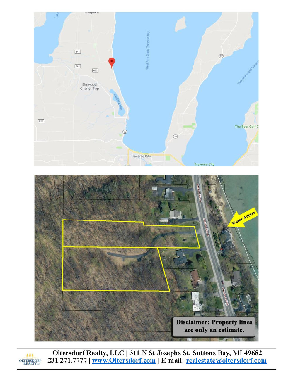 4+ Acres - S West Bayshore Drive, Traverse City – FOR SALE by Oltersdorf Realty - Marketing Packet (6).jpg
