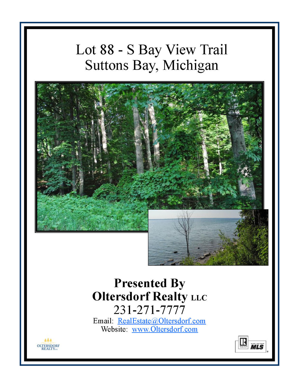 S Bay View Trail Lot 88, Suttons Bay - For Sale by Oltersdorf Realty LLC - Marketing Packet (1).jpg