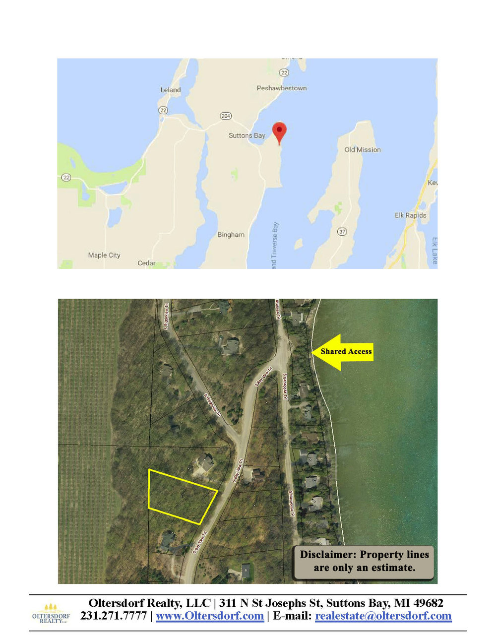 S Bay View Trail Lot 88, Suttons Bay - For Sale by Oltersdorf Realty LLC - Marketing Packet (5).jpg