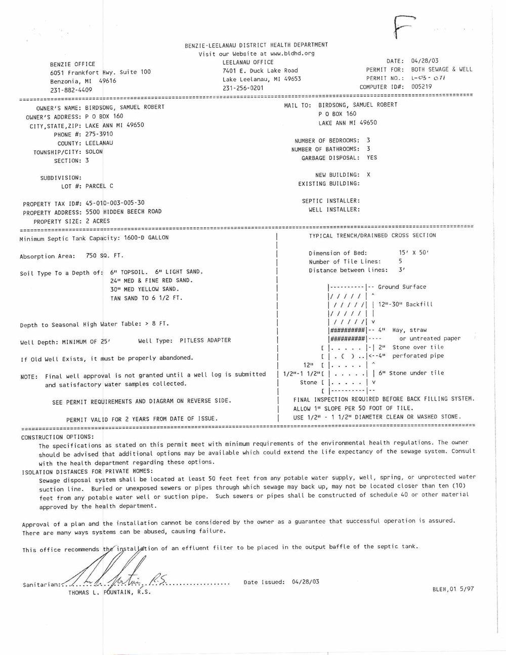 5500 E Hidden Beech, Cedar, MI - For sale by Oltersdorf Realty LLC - Marketing Packet (18).jpg