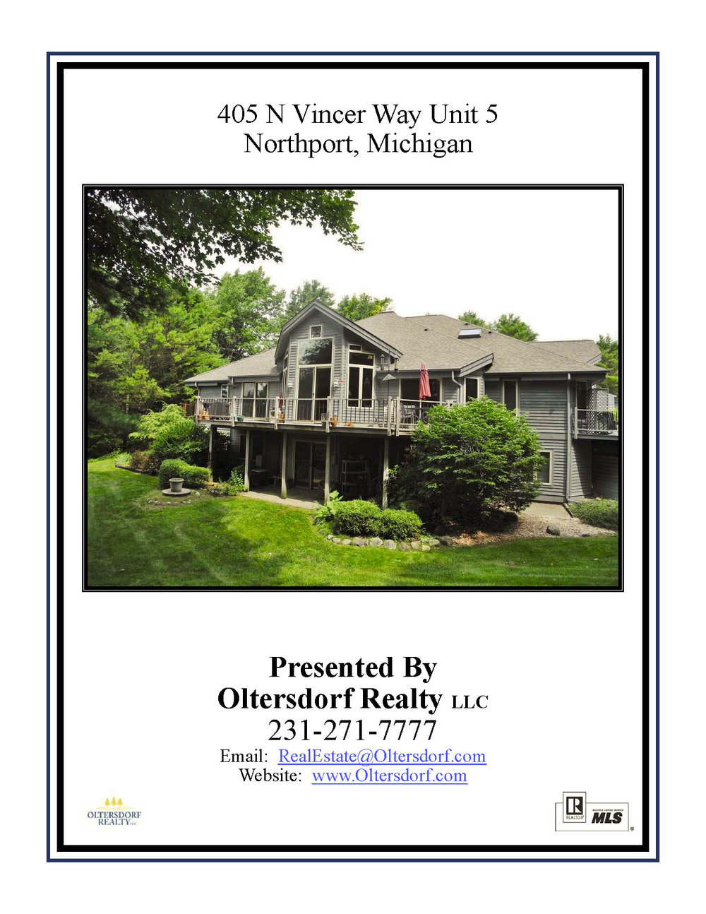 405 N Vincer Way Unit 5, Northport – FOR SALE by Oltersdorf Realty LLC - Marketing Packet (1).jpg