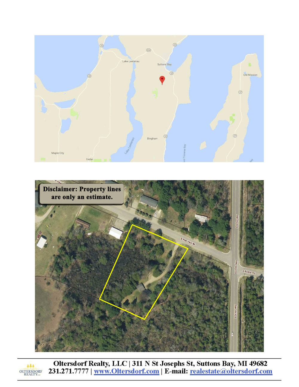 2566 S Pine View Road, Suttons Bay, MI – Affordable 3 Bedroom Suttons Bay Ranch Home for sale by Oltersdorf Realty - Marketing Packet (7).jpg