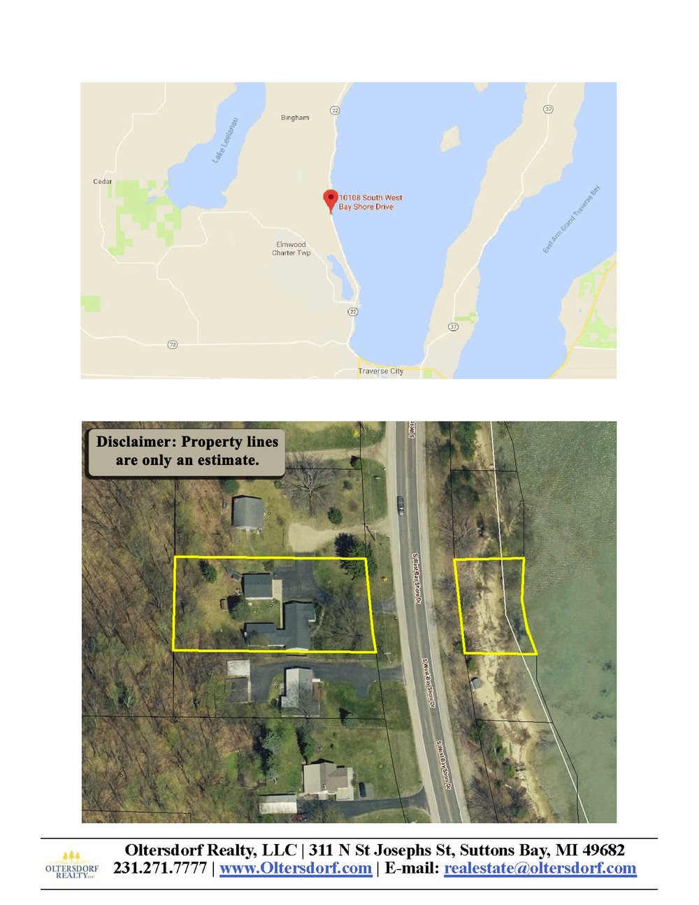10108 S West Bay Shore Drive, Traverse City, MI – Ranch Home & 106' on West Grand Traverse Bay - Marketing Packet by Oltersdorf Realty LLC (8).jpg