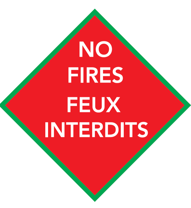 Restricted Fire zone / Zone de restriction des feux