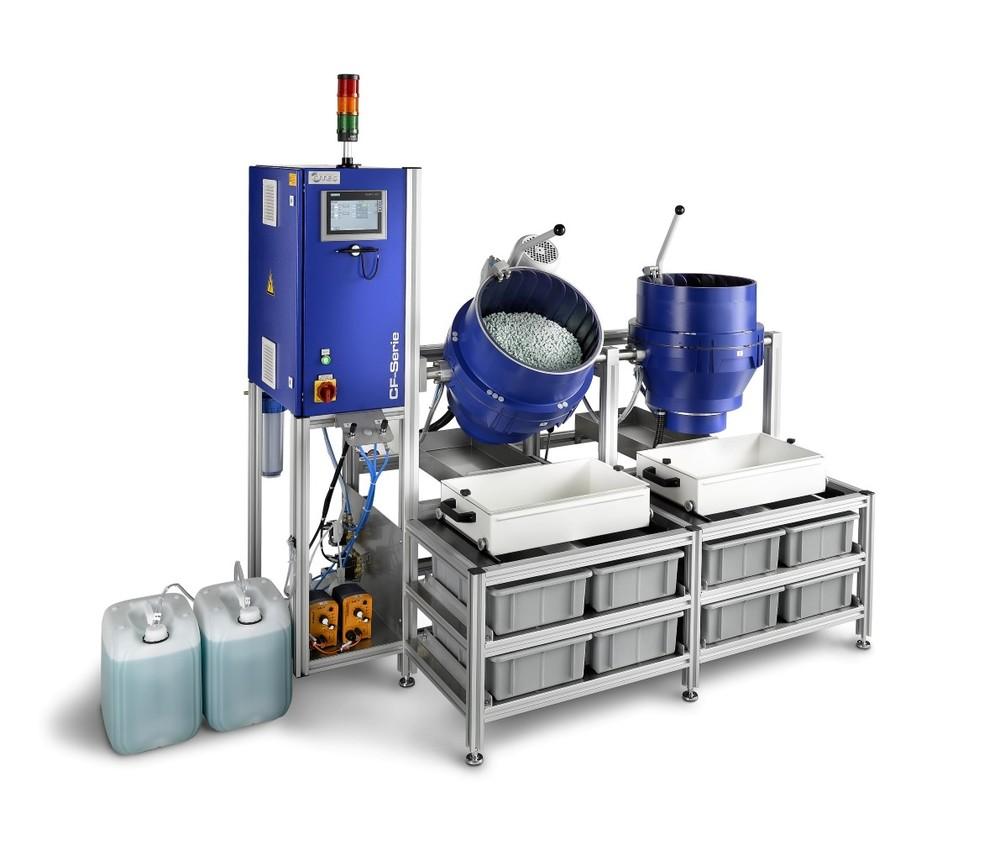 OTEC CF: ontbraammachine. Centrifugaal-techniek