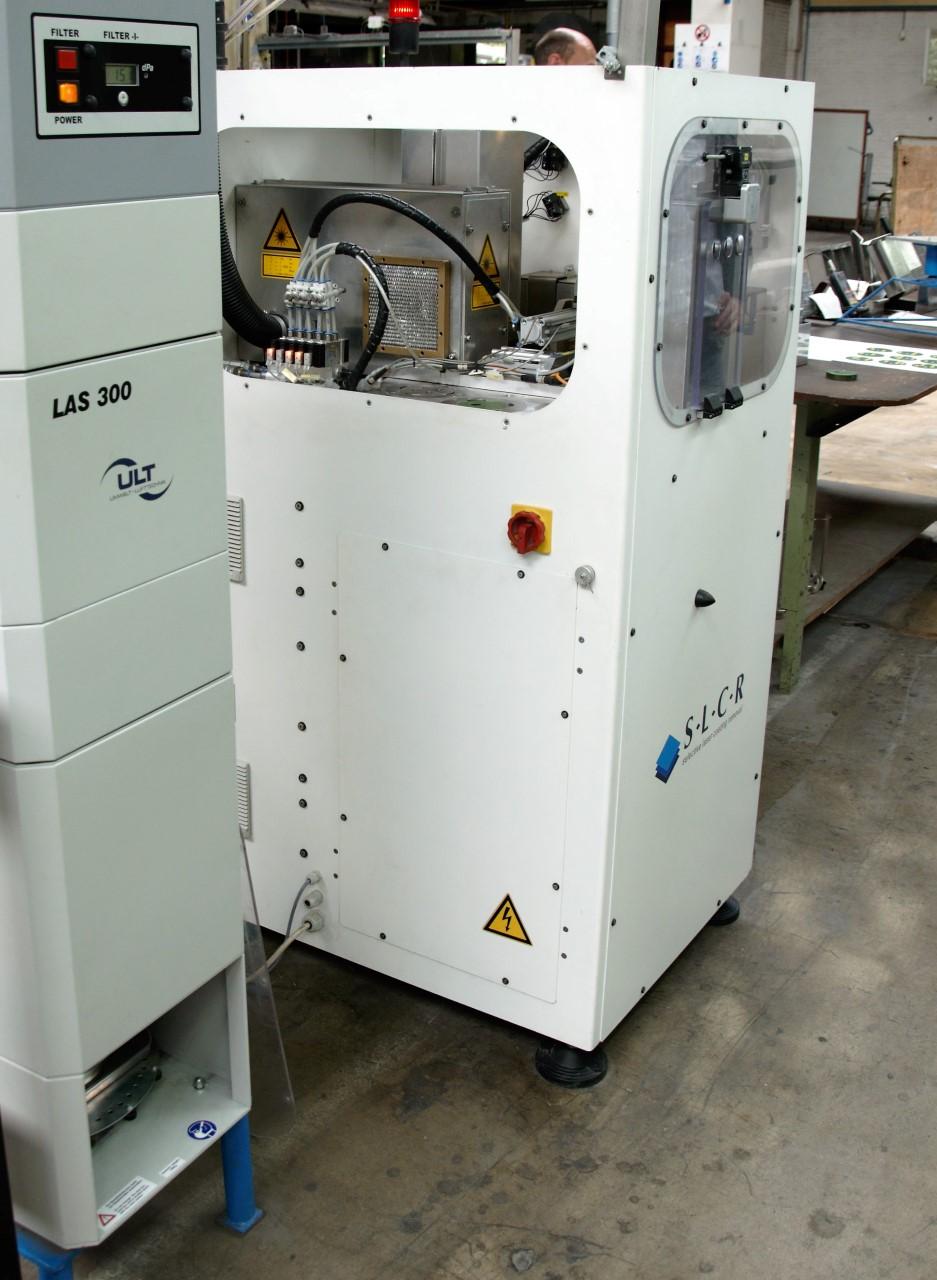 SLCR-machine bij Ferro Techniek B.V.