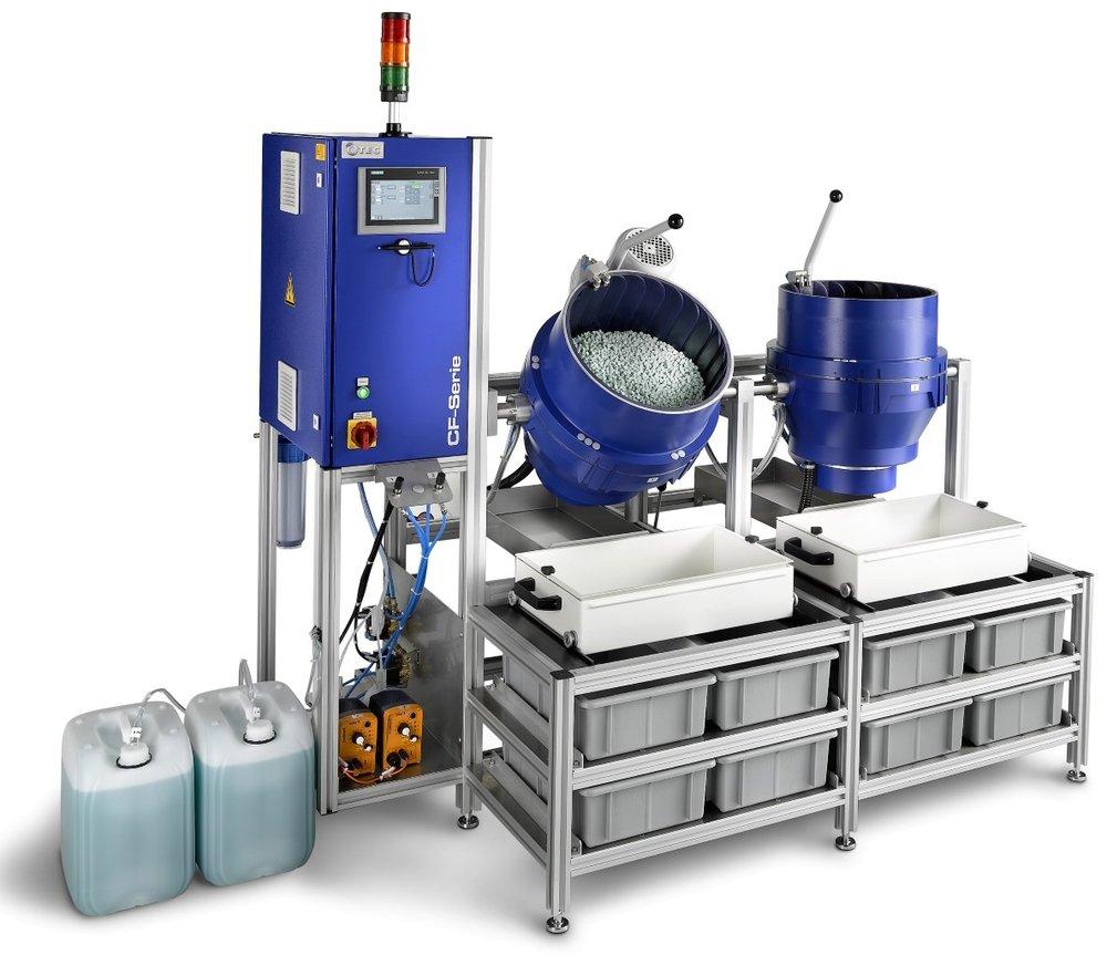 OTEC: machines voor precisie ontbramen en polijsten