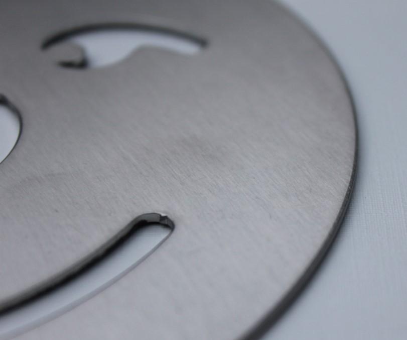 Gegalvaniseerde plaat na Fladder borstelbewerking