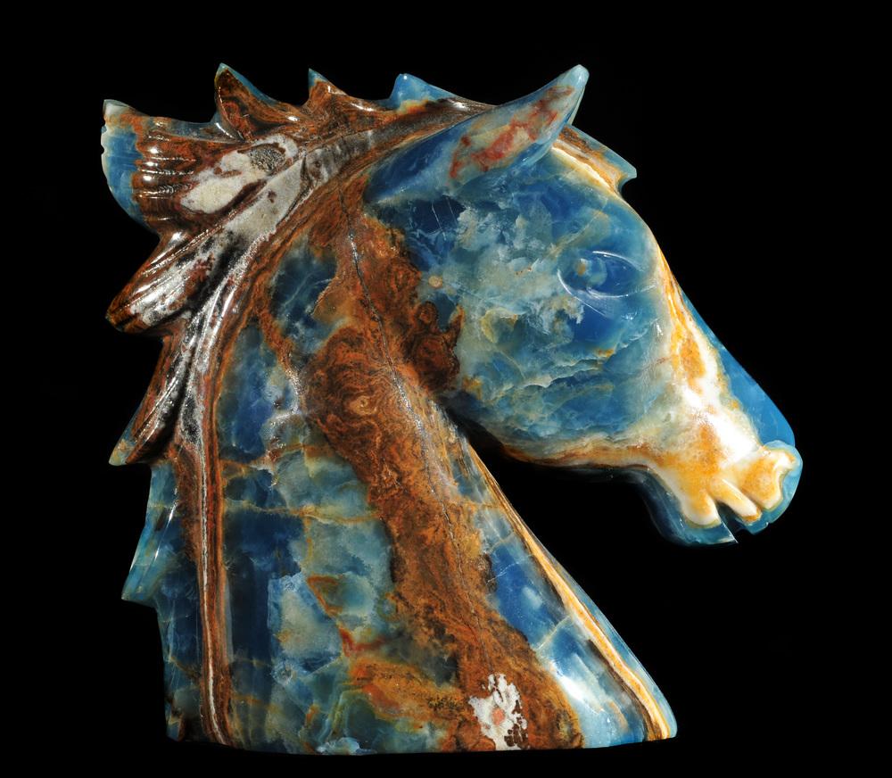 Blue Onyx Horse