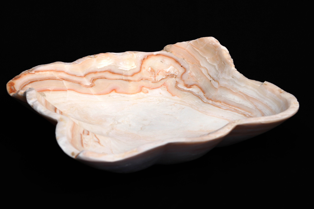Calcite Freeform Bowl
