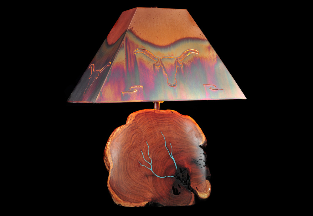 Mesquite Lamp (small)