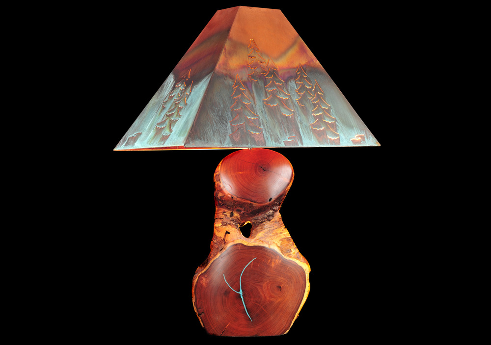 Mesquite lamp (large)