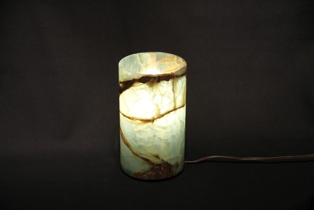 Blue Onyx Lamp