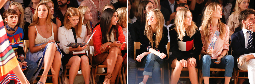 Princess Beatrice of York  admires the details and  Behati Prinsloo  is a fan.