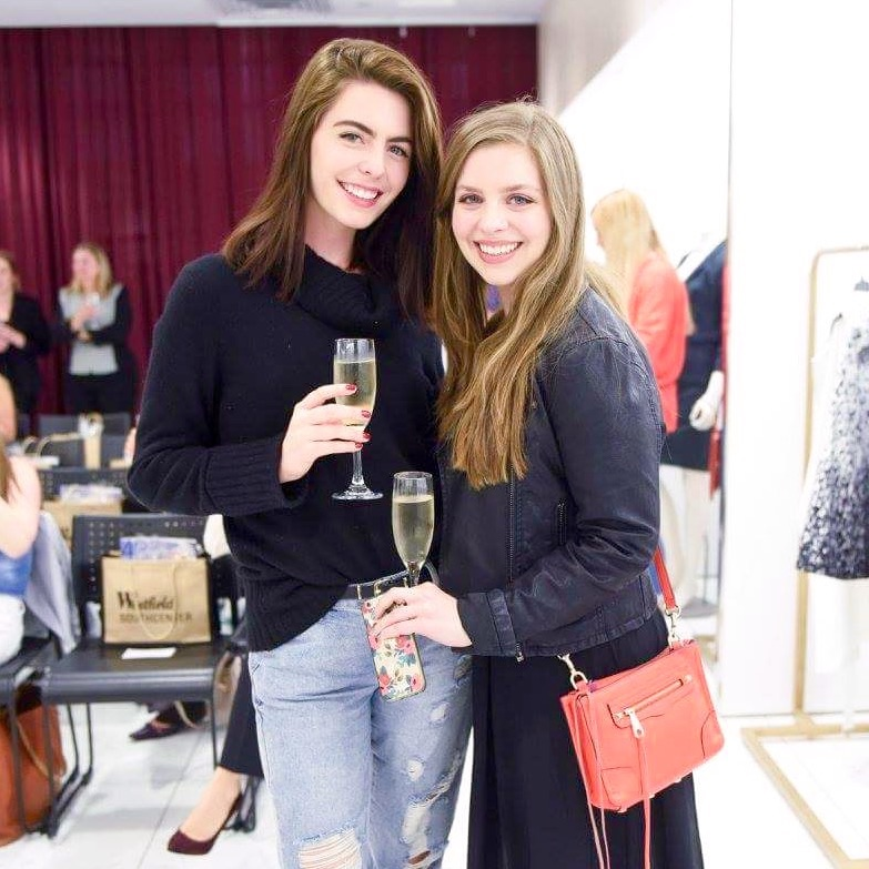 Jenn and I at the first Style Boss event at Westfield Southcenter. Photo by: Vivian Hsu Photography