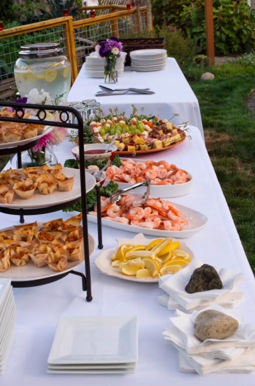 Food-For-Backyard-Engagement-Party
