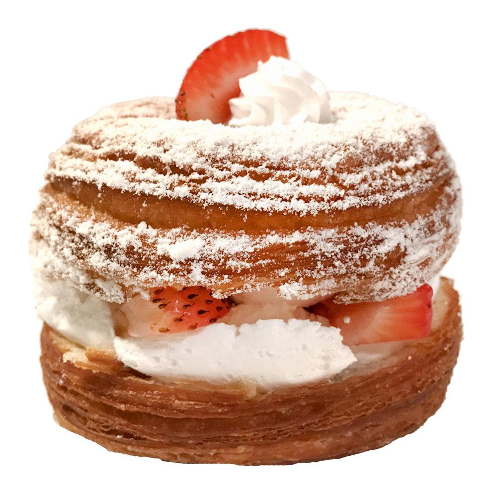 Croisant Donut Strawberries with Whipped Cream.jpg