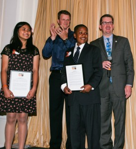 San Francisco RBI literacy program participants are honored for their accomplishments