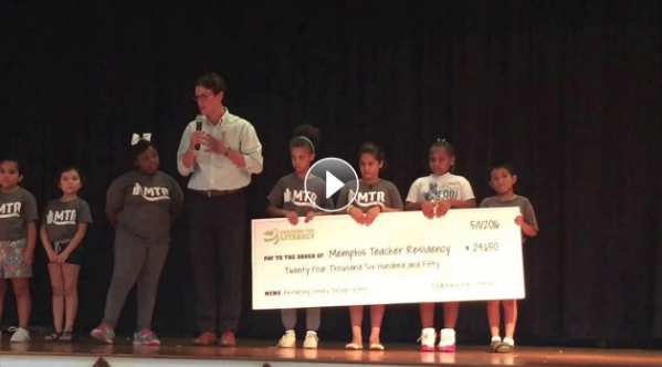 """""""We are grateful for the partnership of Coaching for Literacy,"""" said Candace Obadina, MTR Camp Director.""""Their support allows us to reduce summer learning regression for young Memphis readers, an invaluable long-term investment in our community."""""""