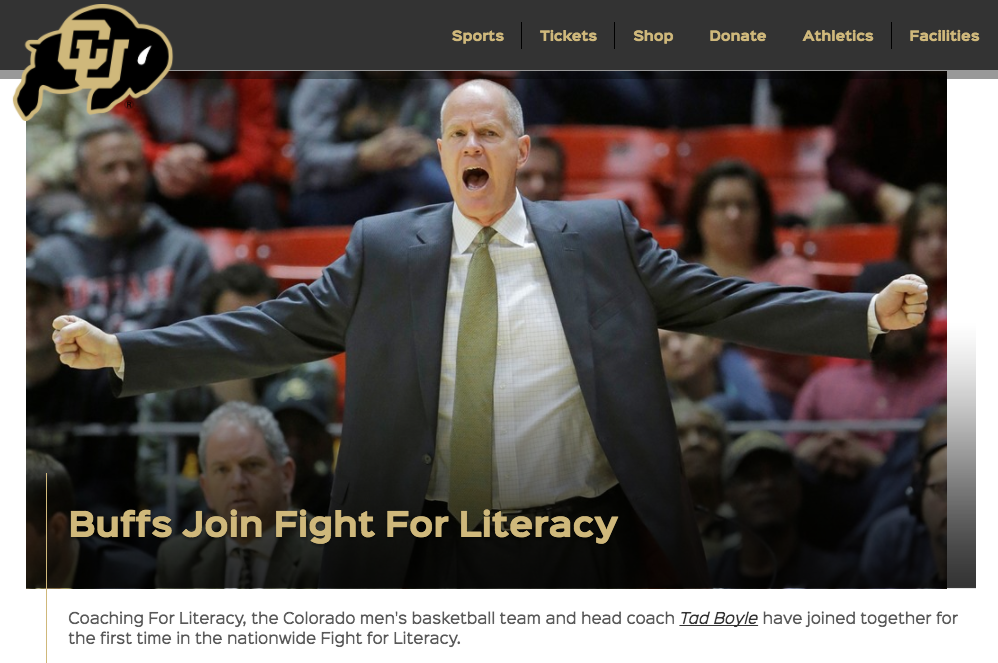 "<p>Colorado Basketball<a href=""http://www.cubuffs.com/news/2017/3/3/mens-basketball-buffs-join-fight-for-literacy.aspx""<target""_blank"">☞</a></p>"