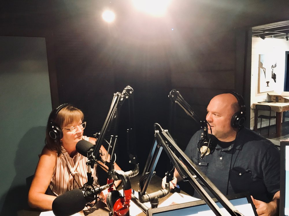 the Milbank Index - Bobbie Bohlen and Hugh Weber talking about the details of the Index in the WhyMilbank Podcast studio.