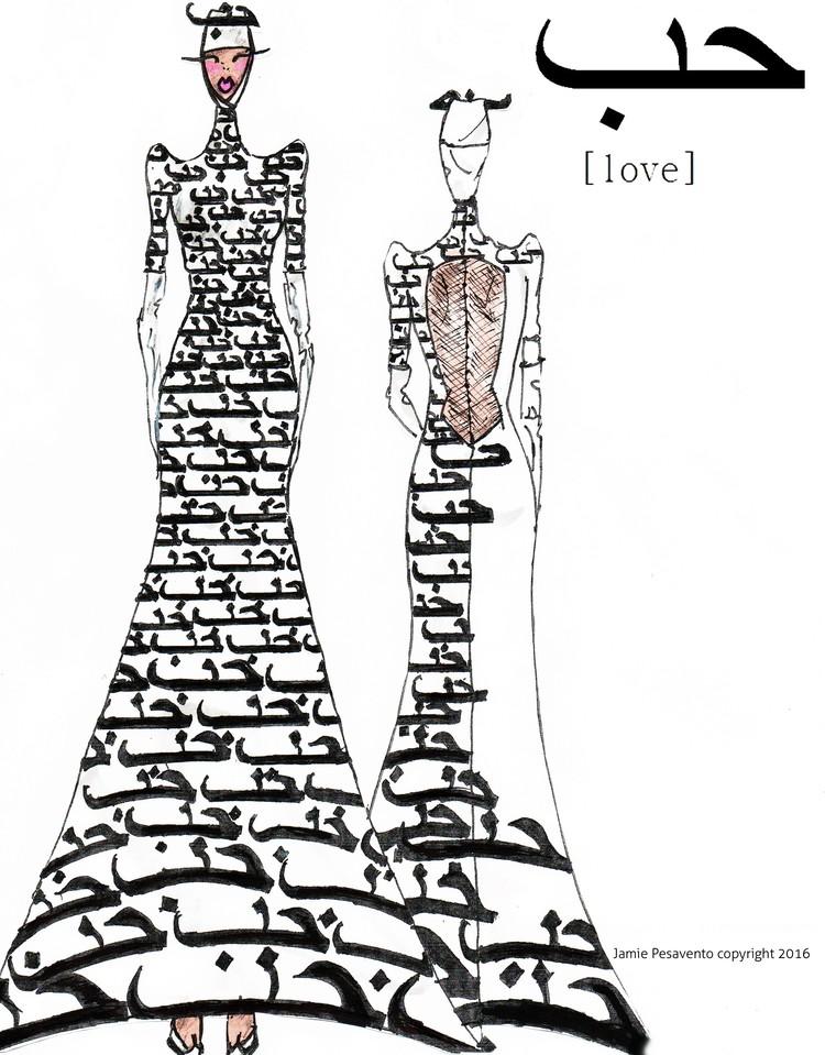 The L O V E Dress Jamie Pesavento