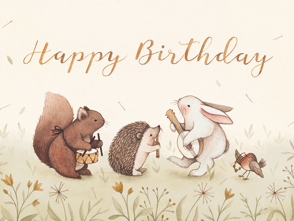 Happy Birthday Cards Nina Stajner