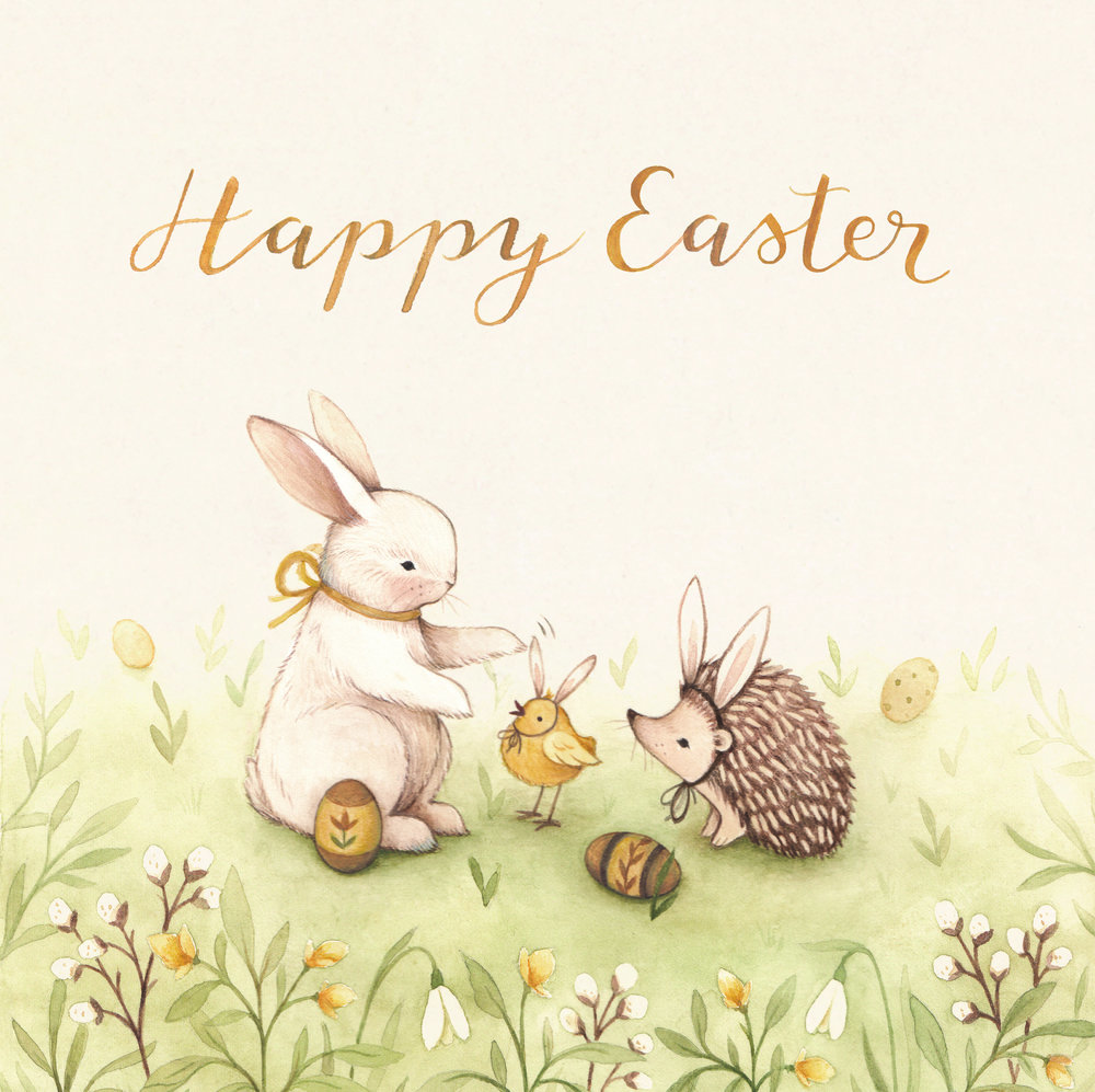 My Easter Greeting Card Nina Stajner