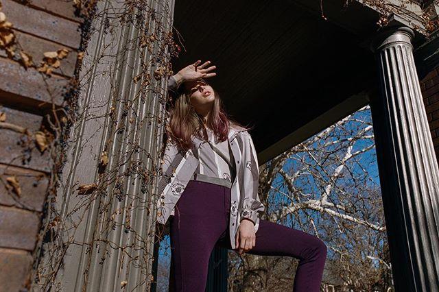 Does anybody read captions though?    model: @kyrstenmarieathan  styling + wardrobe: @rolandfitz.me  film: #portra400 camera: #canon1v scan/ dev: @thefindlab