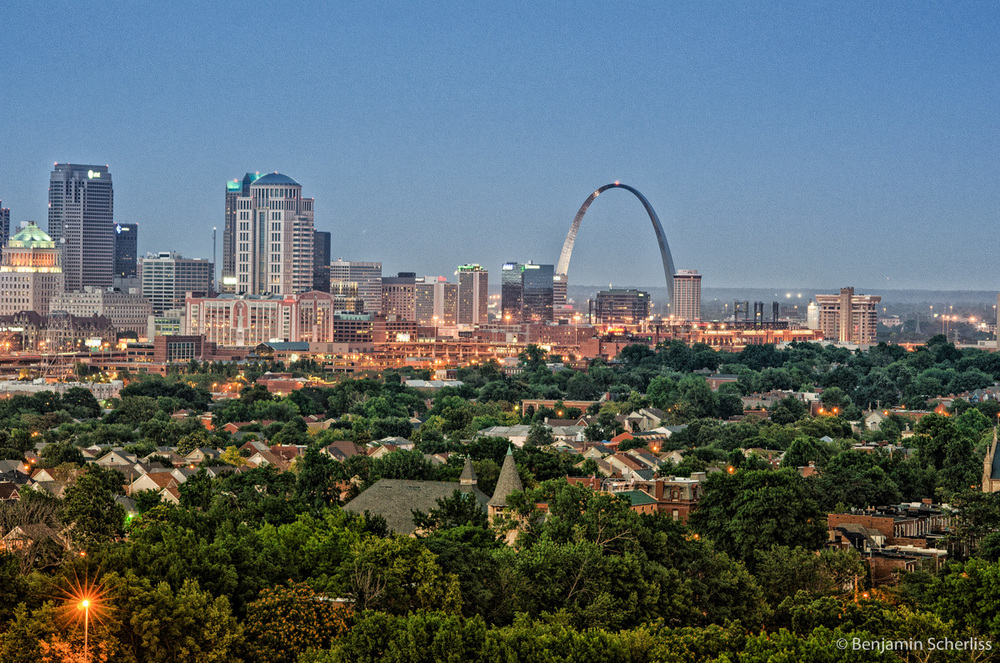 St. Louis in Summertime