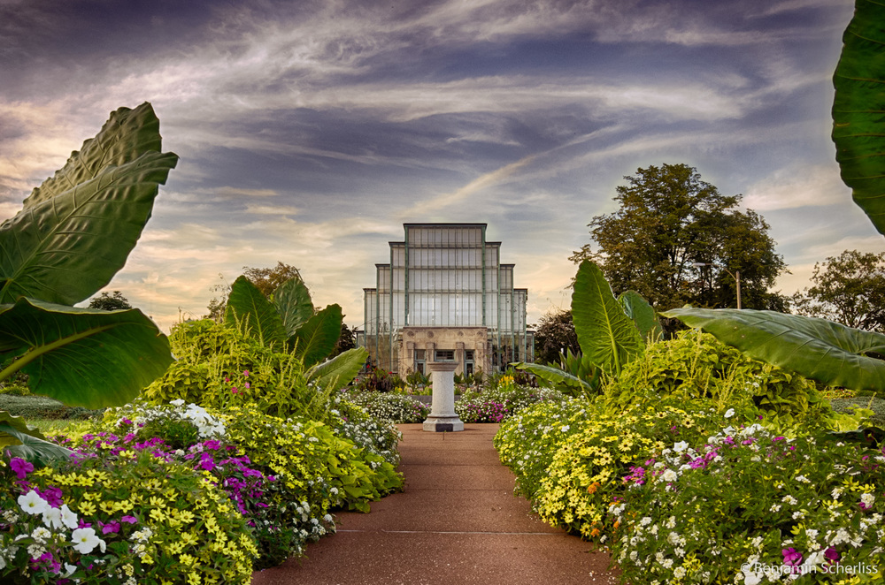 The Jewel Box, Forest Park St. Louis