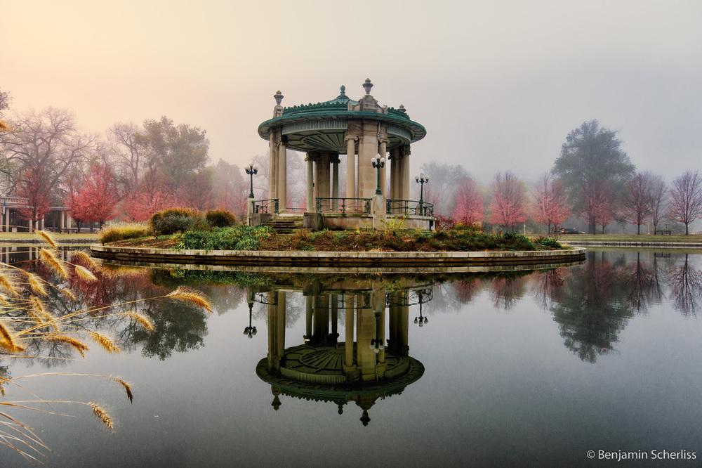 Foggy Pagoda Circle